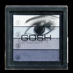 GOSH Smokey Eyes Palette 04 Blue acu ēnas ēnas