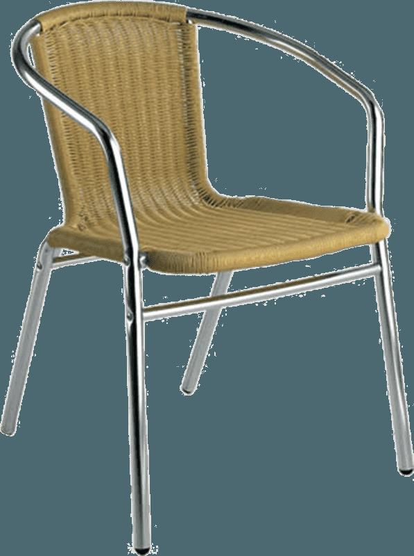 Krēsls pīts metāla 55x56x74 brūns Dārza mēbeles