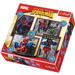 4 in 1 Mix Spiderman puzle 20,5x28,5cm galda spēle