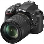 Nikon D3300 24.2Mpix 18-105 VR Black Spoguļkamera SLR