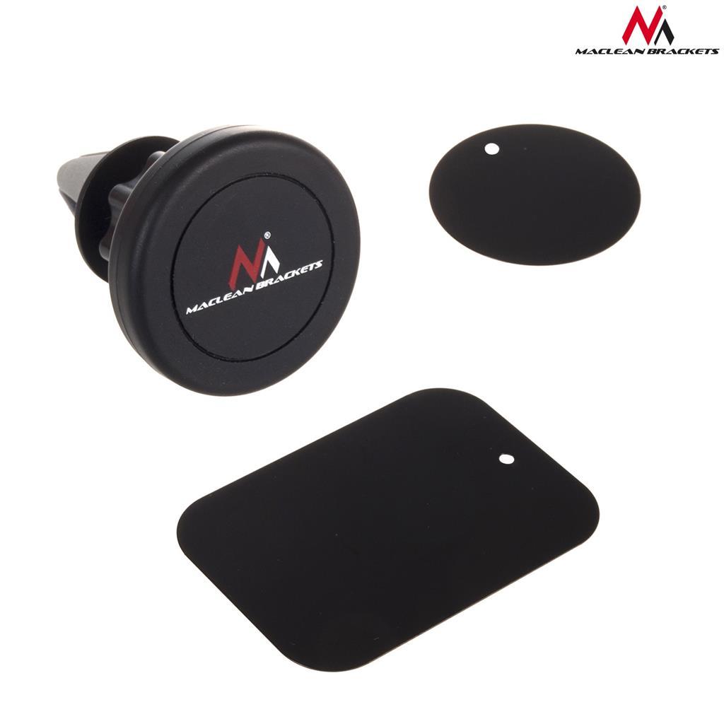 Maclean MC-736 Universal automotive magnetic Phone Holder air vent Mobilo telefonu turētāji