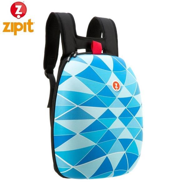 ZIPIT Cieta mugursoma ar nodalījumiem iekšā (41.5x32x16cm) Zila portatīvo datoru soma, apvalks