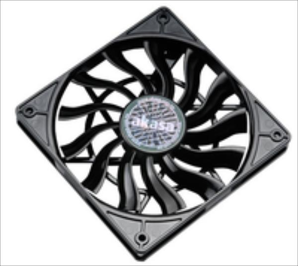SlimFan for HTPC system  PWM 12cm AK-FN078 dzesētājs, ventilators