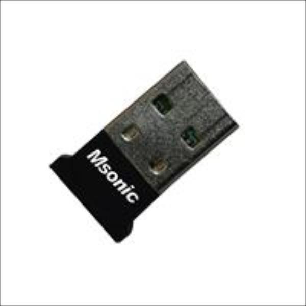 MSONIC Bluetooth Adapter v2.0 + EDR USB MC7468NK WiFi adapteris