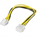 8 Pin plug - jack 0.28m (8 Pin EPS power extension) kabelis, vads