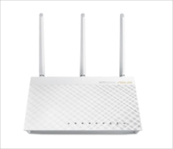 ASUS RT-AC66U WHITE AC1750, WLAN Router, 802.11ac/b/g/n WiFi Rūteris