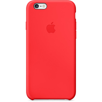 iPhone 6 Silicone Case RED aksesuārs