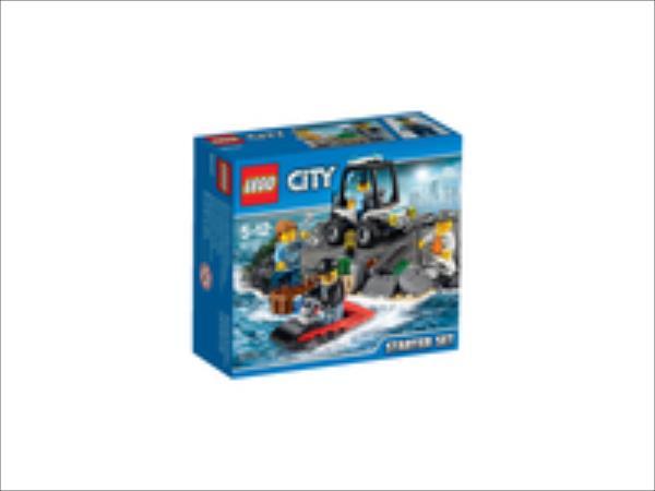 LEGO City  Prison Island Starter 60127 LEGO konstruktors