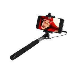ART SELFIE STICK wired KS10A ART-OEM black Selfy Stick
