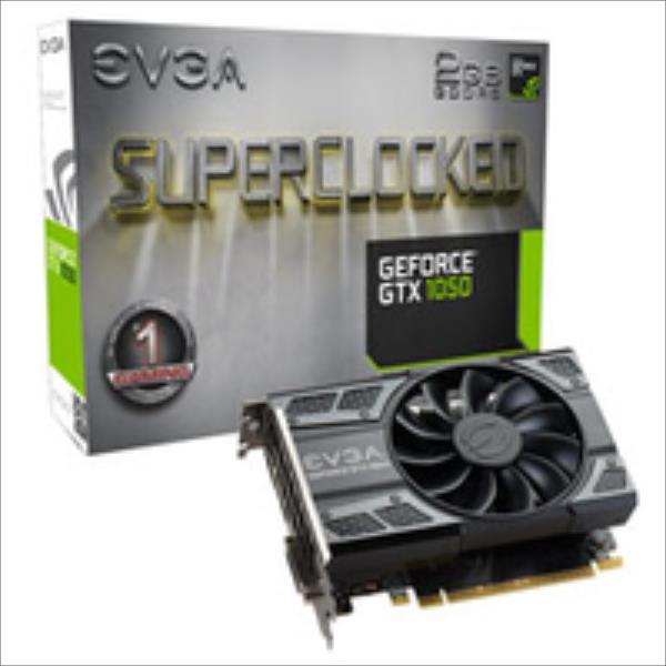 EVGA GeForce GTX 1050 SC Gaming, 2048MB GDDR5, HDMI2.0b, DisplayPort1.4 video karte