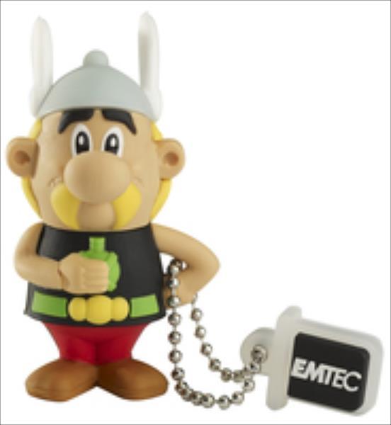 Emtec memory 4GB AS100 USB 2.0  |15MB/5MB/s|  AS Asterix USB Flash atmiņa