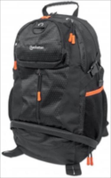 NB Rucksack Manhattan Trekpack    bis 17  black/orange portatīvo datoru soma, apvalks