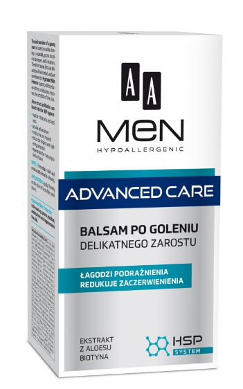 AA Cosmetics Men Adventure Care Balsam Aftershave 100ml kosmētika ķermenim