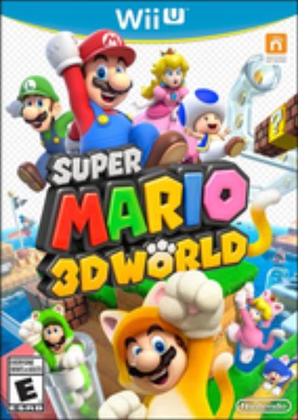 Super Mario 3D World (Wii U) spēle