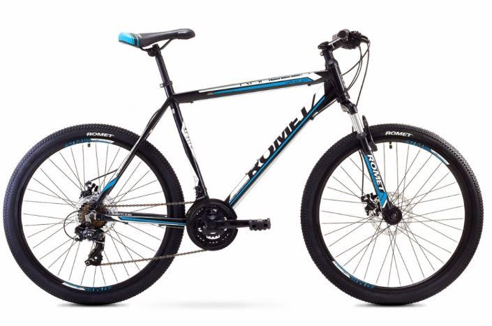ROMET RAMBLER 26 2 MTB 21-XL R26 MELNS/ZILS kalnu velosipēds MTB