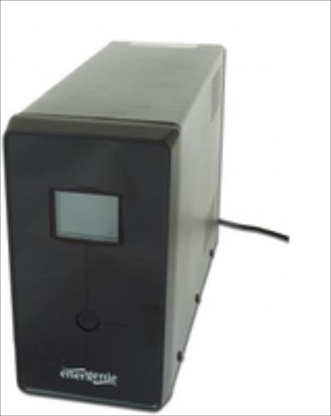 Gembird ENERGENIE Line-Interactive,1200VA,3xIEC,2xSchuko 230V,USB,RJ11,LCD (EG-UPS-033) nepārtrauktas barošanas avots UPS