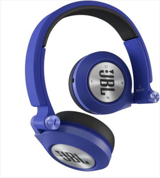 JBL E40BT Bluetooth Blue austiņas