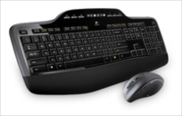 Logitech Wireless Desktop MK710 klaviatūra