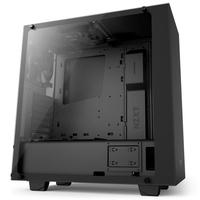 NZXT ELITE S340 Midi-Tower, Tempered Glas Window - black Datora korpuss