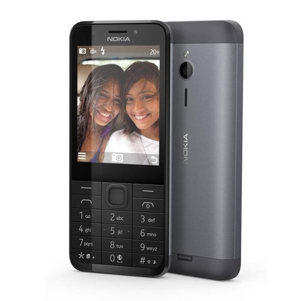 Nokia 230 SS dark silver Mobilais Telefons