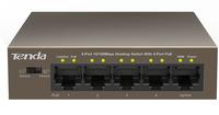 5-Port 10/100Mbps Desktop Switch with  4-Port  PoE  Switch komutators