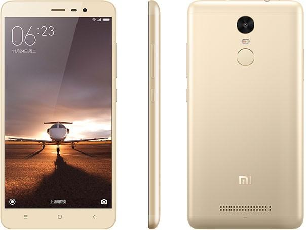 Xiaomi Redmi Note 3 Pro 16GB 2GB Dual gold Mobilais Telefons