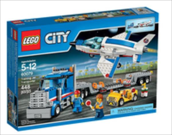 LEGO City Training Jet   Transporter 60079 LEGO konstruktors
