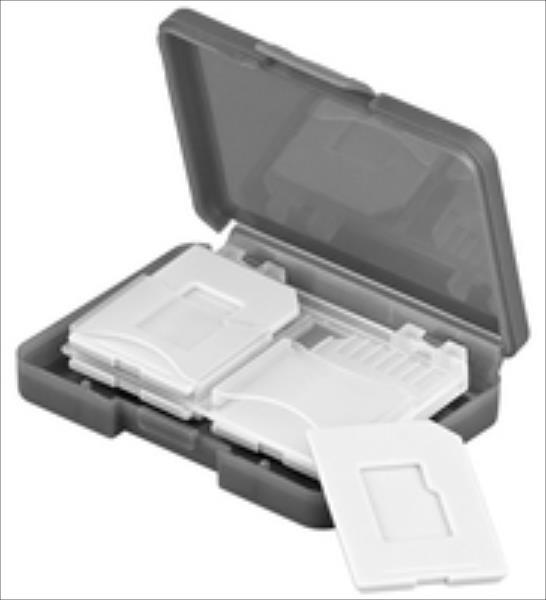 Goobay 95349 SD/MicroSD Card Case 4 kartēm atmiņas karte