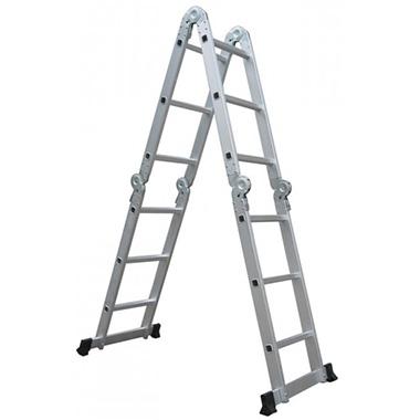 Besk Kāpnes alumīnija 2x 9 pakāpieni