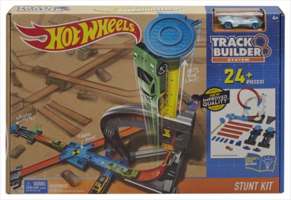 Hot Wheels DLF28 rotaļu triku automašīnu trase DLF28