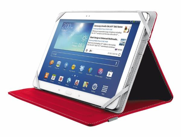 Trust Verso Universal Folio Stand for 10'' tablets - red planšetdatora soma