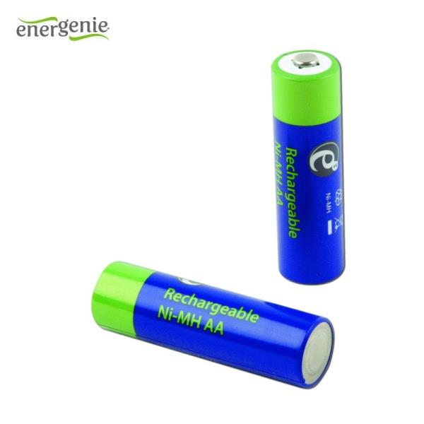 Energenie AA LR06 2300mAh Ni-Mh Rechargeable Battereries EG-BA-106 (2pcs) Baterija