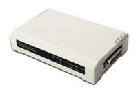 Digitus Printserver 10/100Mbps 2xUSB2.0 + 1xLPT Printserveris