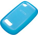 Nokia CC-1034 Original Silicone case for Asha 200 Blue maciņš, apvalks mobilajam telefonam