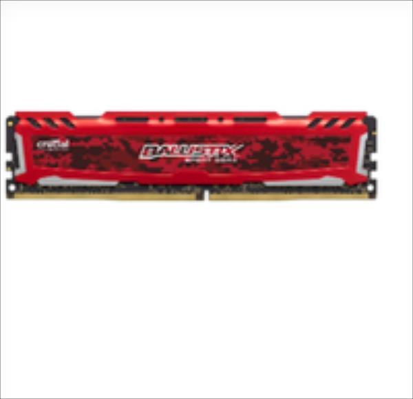 Crucial Ballistix Sport LT  DDR4, 8GB, 2400MHz, CL16  (BLS8G4D240FSE) operatīvā atmiņa