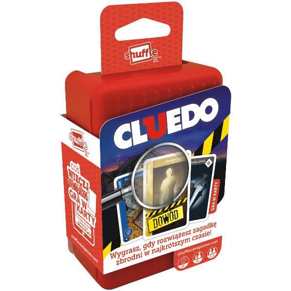 Cartamundi Shuffle Cluedo PL - 100204124 galda spēle
