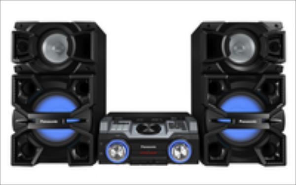 Panasonic SC-MAX4000EK Hifi System black mūzikas centrs
