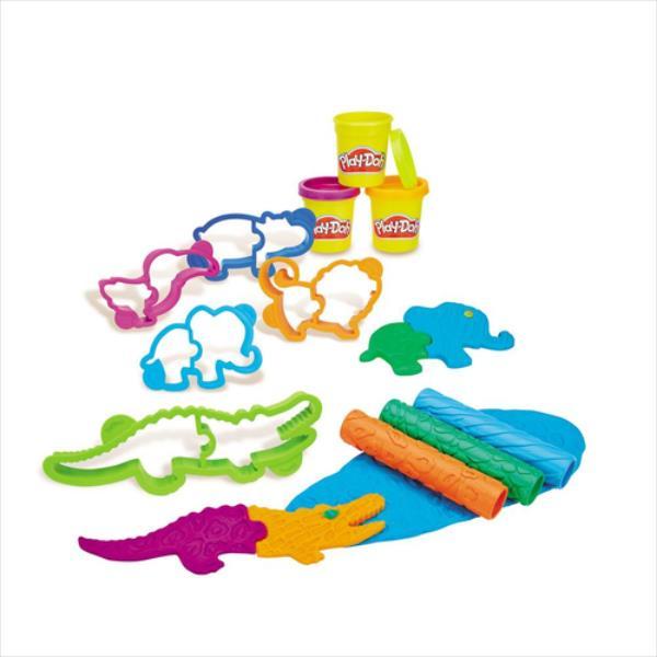 Hasbro Play-Doh Make'n Mix Zoo bērnu rotaļlieta