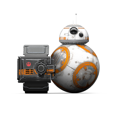 Sphero Star Wars BB-8 R001SRW The app-enabled Droid and Force band, Bluetooth, Droid: durable polycarbonate shell, Speed 2 m/s, BB-8 App-Ena