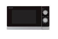 Sharp R-200INW Solo Mikrowelle silver-black Mikroviļņu krāsns