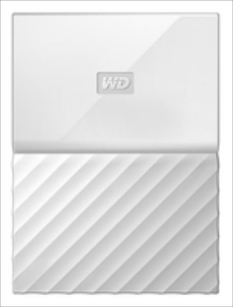 WD My Passport 2.5'' 1TB USB 3.0 White Ārējais cietais disks