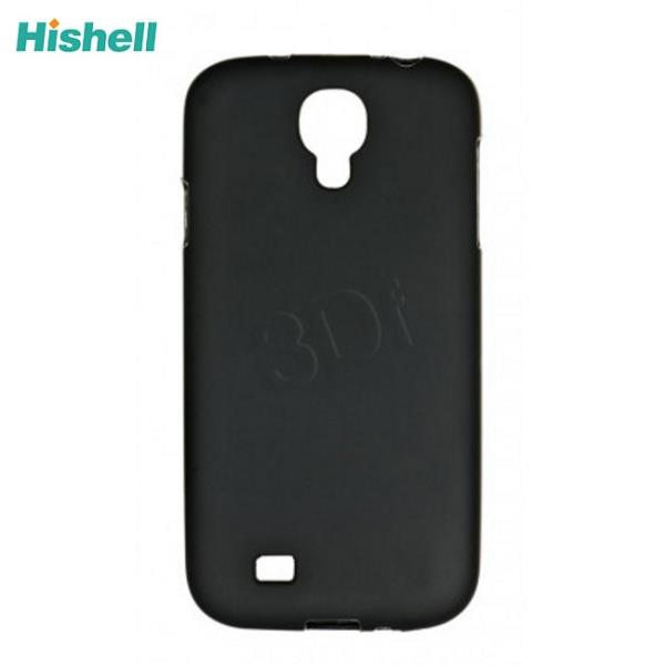 Hishell Super plāns silikona aizmugures apvalks Samsung i9500 i9505 Galaxy S4 Melns (EU Blister) maciņš, apvalks mobilajam telefonam