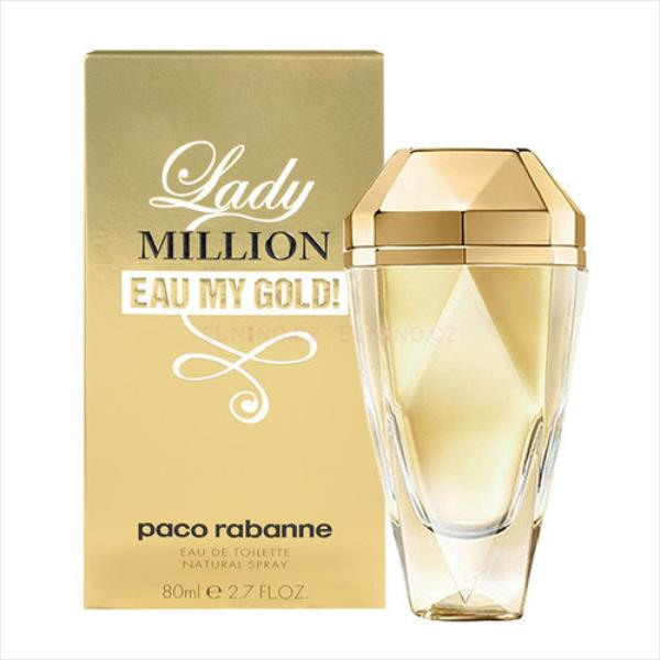 Paco Rabanne Lady Million Eau My Gold! 80ml Smaržas sievietēm