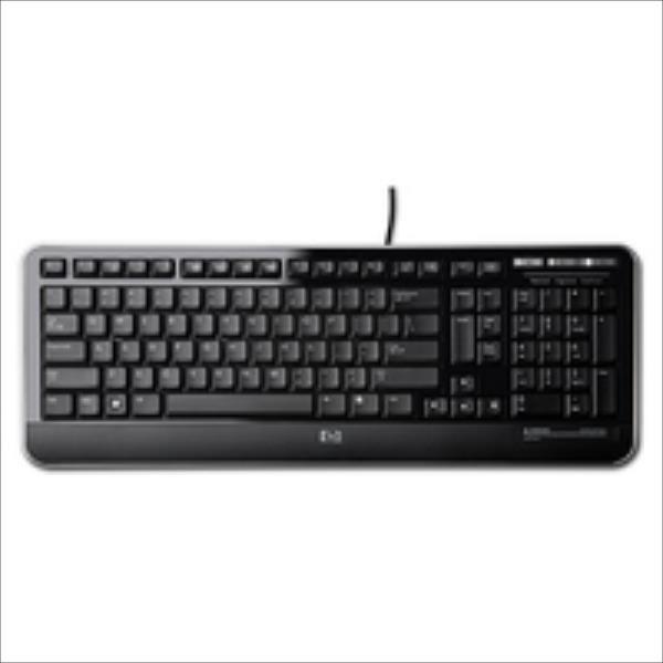 HP Inc. 672647-L33 USB Keyboard INT EU New Retail Datora pele