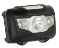 Arcas Headlight ARC5 1 LED+2 Flood light LEDs, 5 W, 160 lm, 4+3 light functions kabatas lukturis