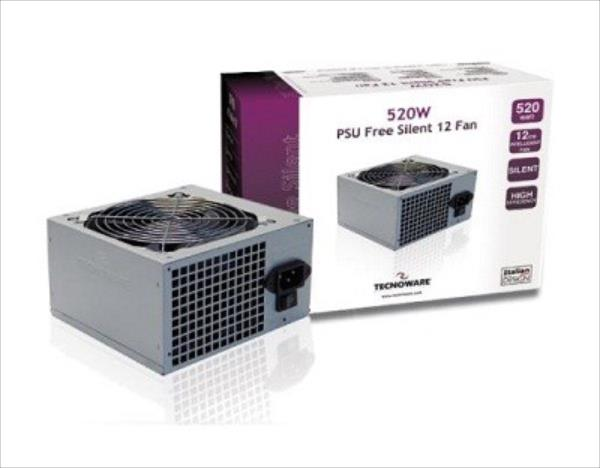 TECNOWARE CASE PSU ATX 520W/FAL525FS12 Barošanas bloks, PSU