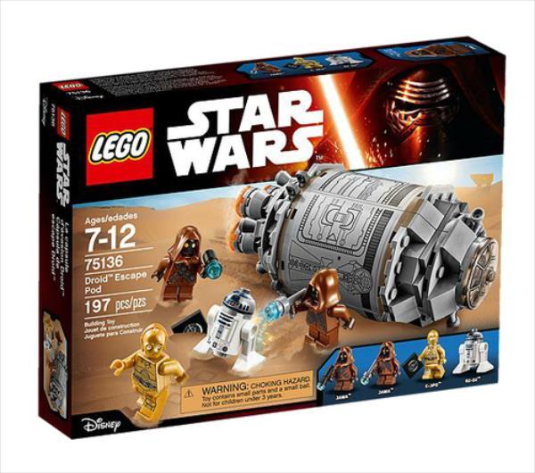 LEGO Droid Escape Pod  75136 LEGO konstruktors