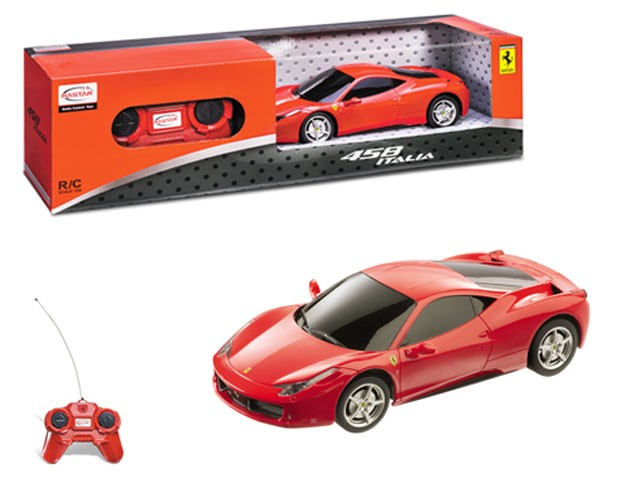 Brimarex Ferrari 458 Italia 1/24 Radiovadāmā rotaļlieta