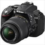 Nikon D5300 24.2Mpix 18-55 VR Black Spoguļkamera SLR
