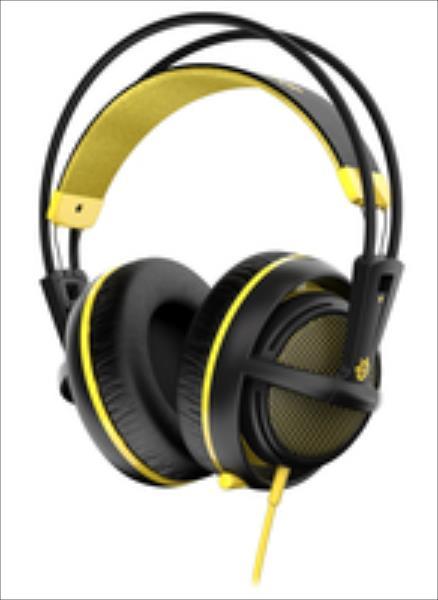 Gaming headset SteelSeries Siberia 200, Proton Yellow austiņas